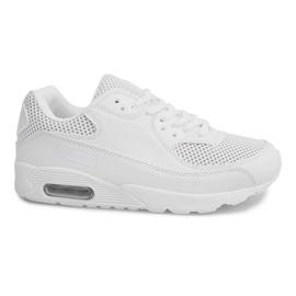 Höga sneakers W-26 vit