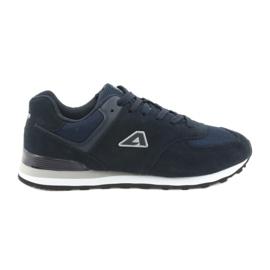 American Club sportskor som joggar HA27 marinblå