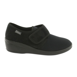 Svart Befado kvinnors skor pu 033D002