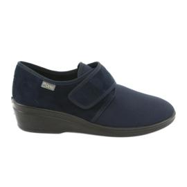 Marinblå Befado kvinnors skor pu 033D001