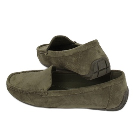 Kvinnors loafers grön R812-1 Grön