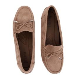 Kvinnors loafers beige R812 Khaki