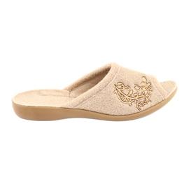 Brun Befado kvinnors skor pu 256D013