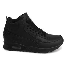 Höga Sneakers B3701 Svart