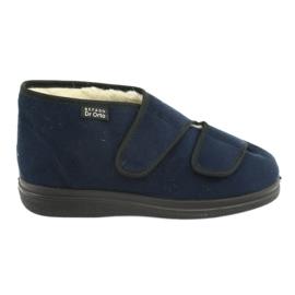 Befado damskor pu 986M010 marinblå