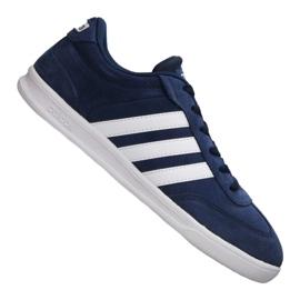 Marinblå Adidas Cross Court M B74444 skor