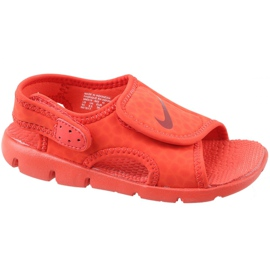 Röd Nike Sunray Adjust 4 Ps Jr 386518-603 sandaler