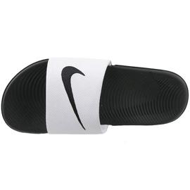 Vit Nike Kawa Slide Gs / Ps 819352-100 tofflor