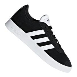 Svart Adidas Vl Court 2.0 Jr DB1827 skor