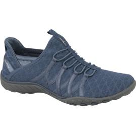 Skechers Breathe Easy W 23048-SLT skor blå