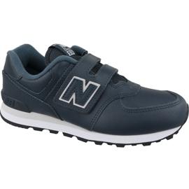 New Balance YV574ERV Jr skor marinblå