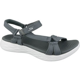 Sandaler Skechers On The Go 600 15316-CHAR grå