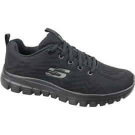 Skechers Graceful Get Connected W 12615-BBK skor svart