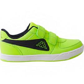 Kappa Trooper Light Ice Kids 260575K 3011 skor grön