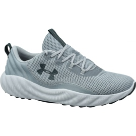 Grå Under Armour Charged Will M 3022038-103 skor