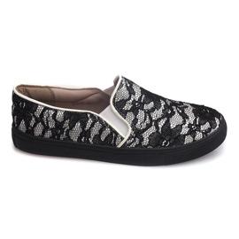 Slip-on Sneakers Slip Lace Q10 White