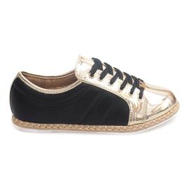 Linne Sneakers Espadrilles Q52 Svart