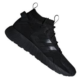 Svart Adidas Questarstrike Mid M G25774 skor
