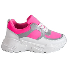 Ideal Shoes Neon Sports skor