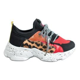 SHELOVET Leopard Print Sportskor