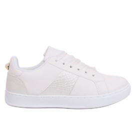 White X93 White damskor vit