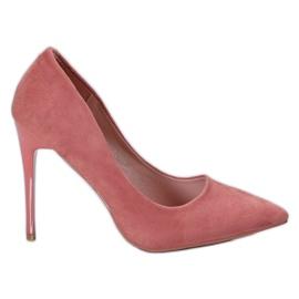Cm Paris rosa Suede Pins