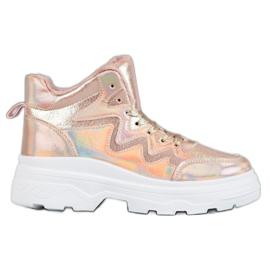 Seastar rosa Isolerade sneakers