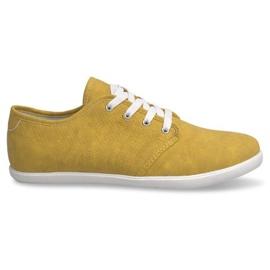 3307 gula sneakers för män