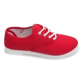 Röd Sneakers Low C91 Red