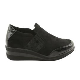 Svarta skor på kilen Sergio Leone 225