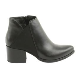 Gamis 3815 högklackade läder svart