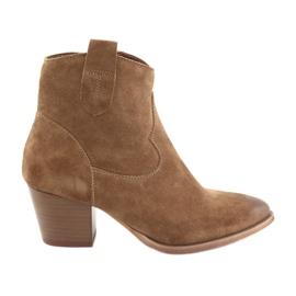 Anabelle 1466 Camel mocka cowboystövlar brun