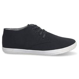 Fashionabla höga sneakers 3232 svart