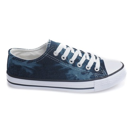 Marinblå Converse sneakers VT12 Dark Navy