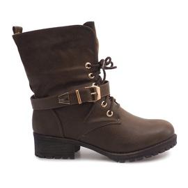 Boots Workery 6616 Khaki grön