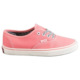 SHELOVET Bekväma sneakers rosa