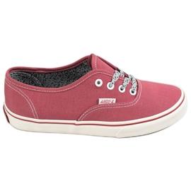SHELOVET röd Bekväma sneakers
