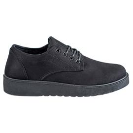 SHELOVET svart Suede skor