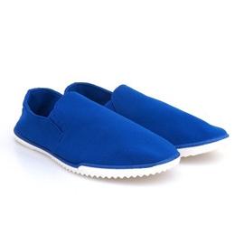 Blå Slip-on Sneakers Lycra 8527 Blue