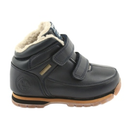 American Club Boots Stövlar Velcro American ES42 marinblå
