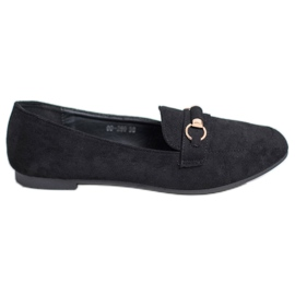 Nio Nio svart Suede loafers
