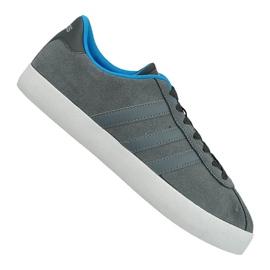 Grå Adidas Vl Court Vulc M AW3927 skor