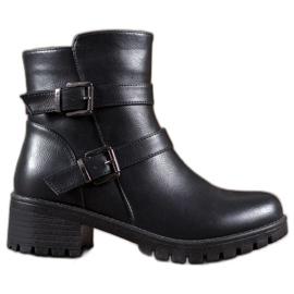 Abloom Eco-läderarbetare svart