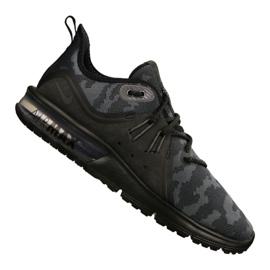 Svart Nike Air Max Sequent 3 Prm Cmo M AR0251-002 skor