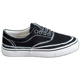 Bestelle svart Träiga sneakers