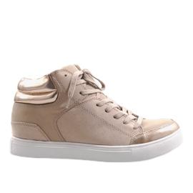 Brun Beige K323 sneakers