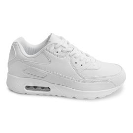 Vit Sport Sneakers Trainers Z2140 White