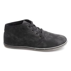 Trendiga höga sneakers TL354 Grå