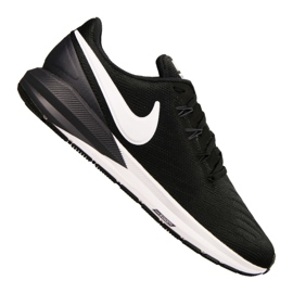 Svart Nike Air Zoom Structure 22 M AA1636-002 skor
