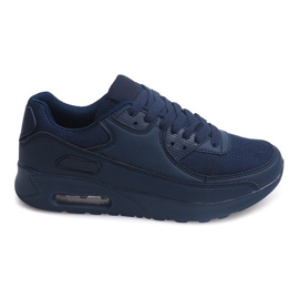 Marinblå Sneakers Trainers X915 Navy Blue B733